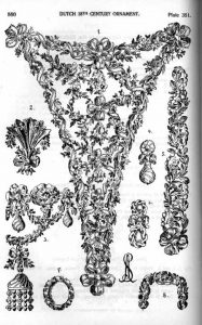 18th century jewelry patterns