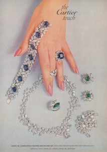 Mid Century Cartier ad
