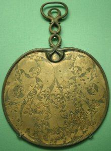 antique English mirror