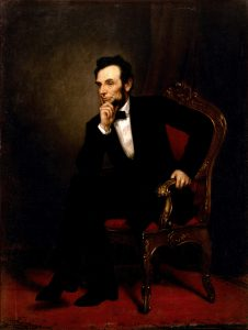painting of Lincoln
