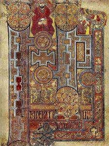 Book of Kells illustration