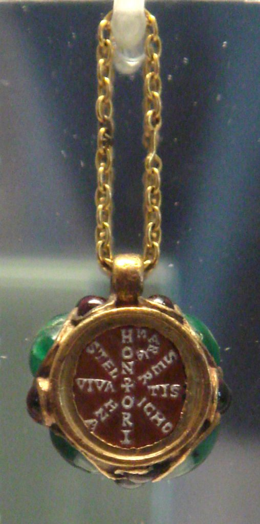 ancient Christian pendant