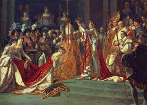 coronation of Napoleon painting