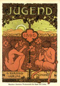 Die Jugend Art Nouveau poster