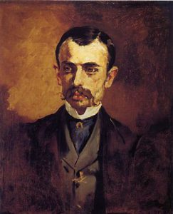 edouard manet portrait of a man