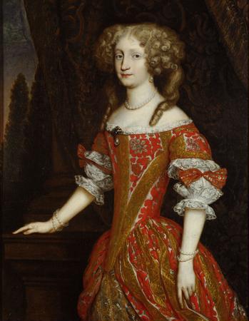 Princess Eleonore pearl brooch