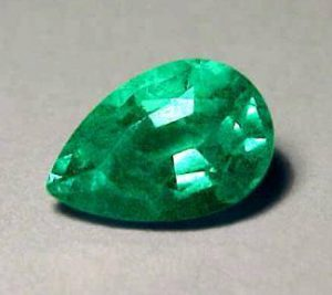pear shaped emerald
