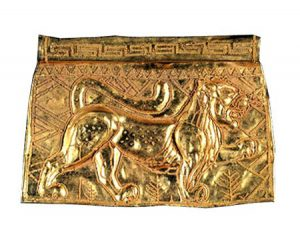 Etruscan pendant with lion