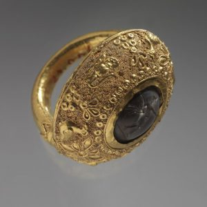 ancient Etruscan ring
