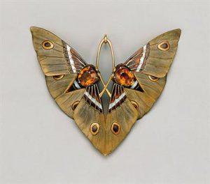 Gaillard Moth Pendant