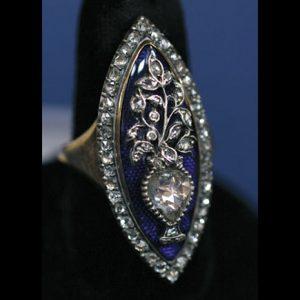 Georgian rose cut diamond rin g