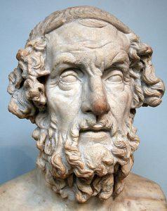 Homer sculpture stone