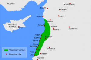 map of ancient phoenicia