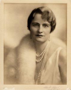 Marjorie Meriweather Post photo necklace