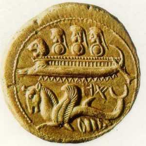 gold phoenician coin
