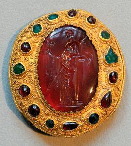 carnelian intaglio Ptolemaic queen