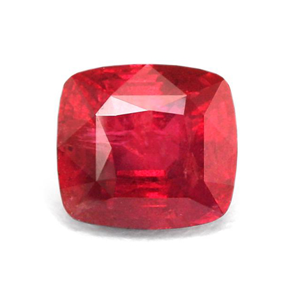12ct untreated ruby gemstone