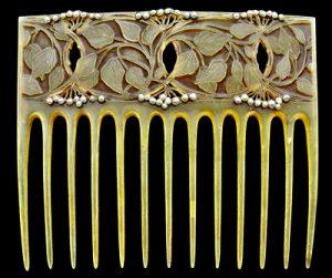 Vever Art Nouveau comb