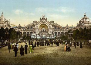 Worlds Fair Paris 1900 photo