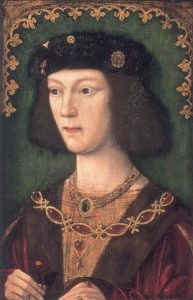 Young King Henry VIII jewelry