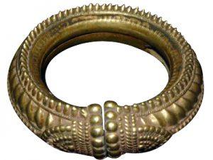 antique silver tribal bracelet