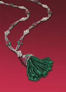 Art Deco gemstone sautoir