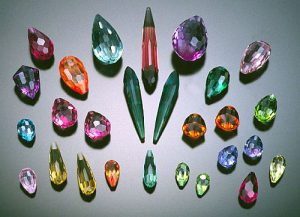 briolette shaped gemstones