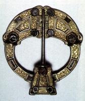 ancient Celtic brooch