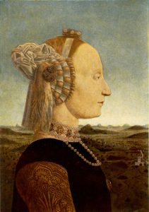 duchess of urbino portrait