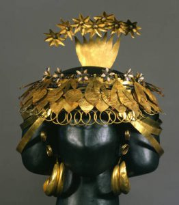 headdress of queen puabi