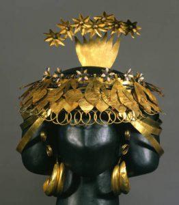 headdress of queen puabi