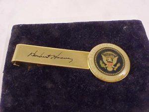 Hoover tie clip bar