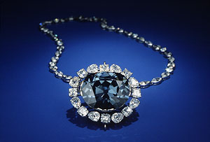 hope diamond necklace setting