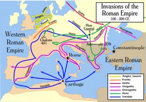 invasions of the roman empire