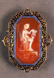 italian renaissance brooch