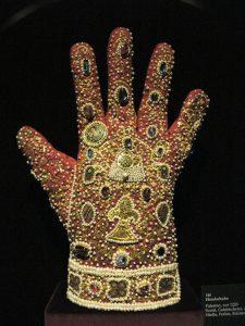 Holy Roman Empire jeweled glove