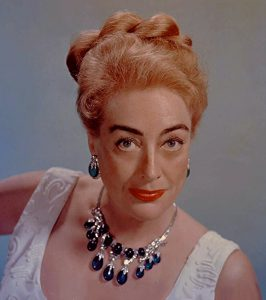 Joan Crawford blue sapphires