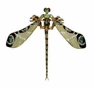 lalique dragonfly brooch
