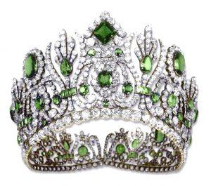 marie-louise emerald diadem