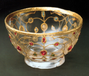 mughal crystal cup