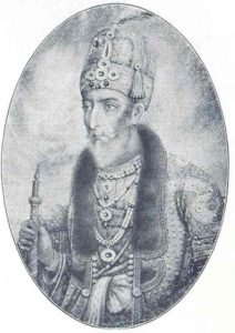mughal emperor drawing