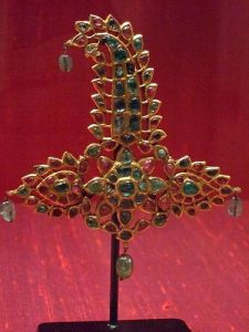 mughal sarpech with jewels