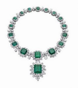 Taylor emerald necklace