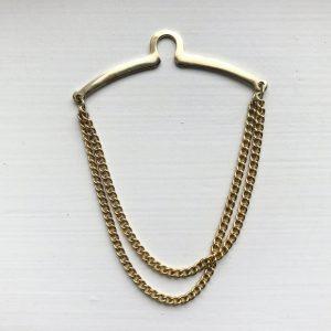 gold tie chain