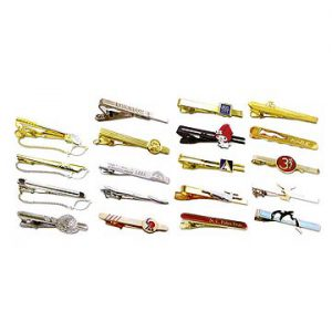 various tie clips