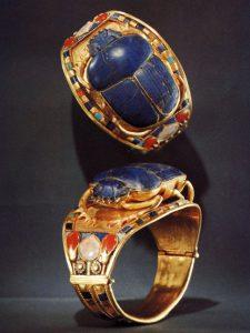 King Tut scarab bracelet