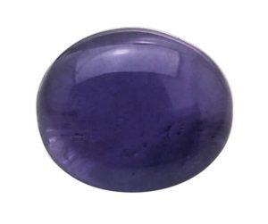 purple cabochon sapphire