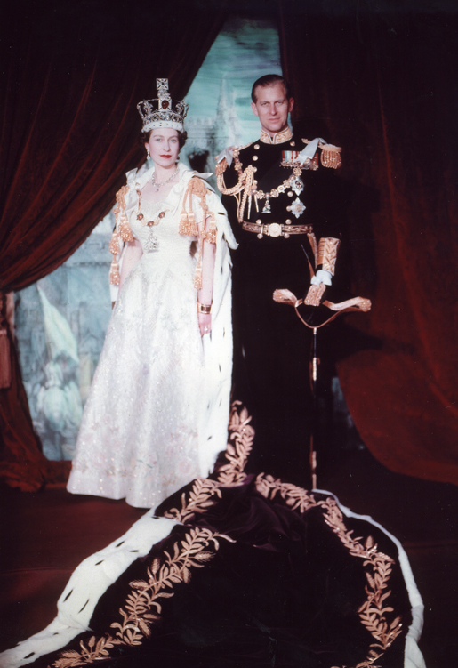 Elizabeth and Philip 1953 coronation