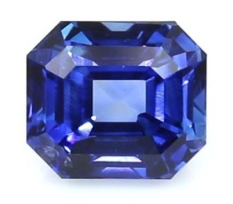 A Natural 3.10 Ct. Blue Sapphire from Sri Lanka