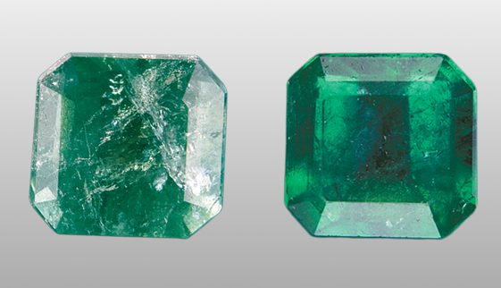 fracture filled emerald